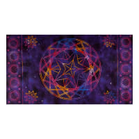 "Northcott Cosmic Universe Cosmic Universe 24"" Panel Purple"