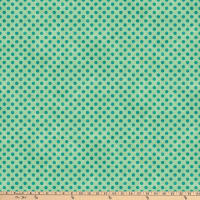 Northcott Spot On Mini Polka Dot Seafoam