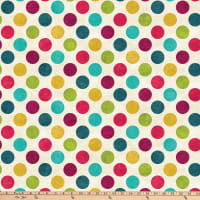 Northcott Spot On Big Polka Dot Sangria
