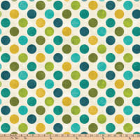 Northcott Spot On Big Polka Dot Turquoise