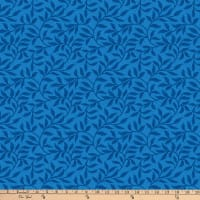 Northcott Dolce Vita Leaf Trail Dark Blue/Multi