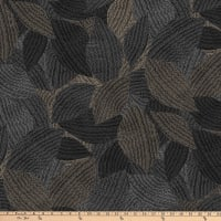 Northcott Dolce Vita Large Leaves Black