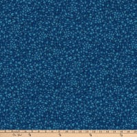 Northcott Dolce Vita Scallop Wide Backing Indigo