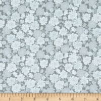 In The Beginning Fabrics Garden Delights Carnation Gray