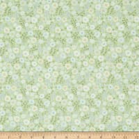 In The Beginning Fabrics Garden Delights II Garden Blooms Green