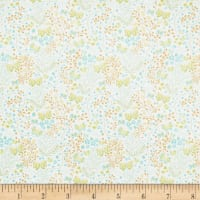 In The Beginning Fabrics Garden Delights II Butterflies Gold