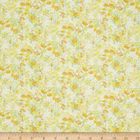 In The Beginning Fabrics Garden Delights II Roses Gold