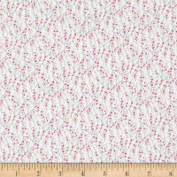 In The Beginning Fabrics Garden Delights II Vines Pink