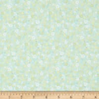 In The Beginning Fabrics Garden Delights II Posies Pale Green