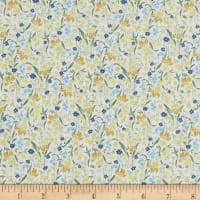 In The Beginning Fabrics Garden Delights II Iris Gold