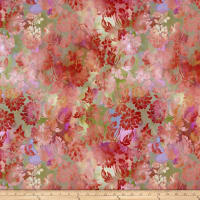 In The Beginning Fabrics Diaphanous By Jason Yenter Daydream Blush