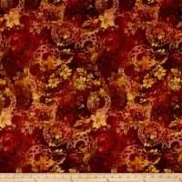 In The Beginning Fabrics Diaphanous Celtic Garden Spice