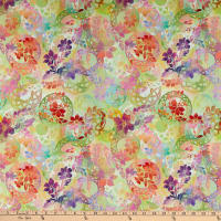 In The Beginning Fabrics Diaphanous Celtic Garden Sherbet