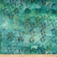 In The Beginning Fabrics Diaphanous By Jason Yenter Enchanted Vines Teal Mist