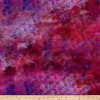 In The Beginning Fabrics Diaphanous By Jason Yenter Enchanted Vines Magenta