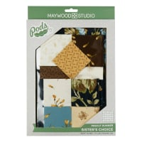 Maywood Studio Pods Quilt Kit English Countryside Sister's Choice Table Runner Multi