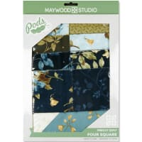 Maywood Studio Pods English Countryside Four Square Quilt Pod Kit Multi