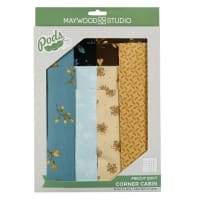 Maywood Studio Pods English Countryside Corner Cabin Quilt Kit Multi