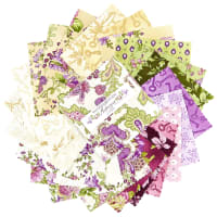 "Maywood Studio 5"" Charms Aubergine Precut Multi (42pcs)"