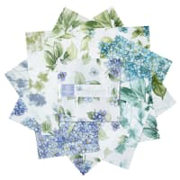 "Maywood Studio Watercolor Hydrangeas 5"" Charms (42pc) Multi"