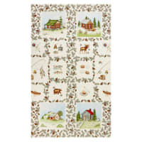 "Maywood Studio Cozy Cabin Cozy Panel 24"" Natural"
