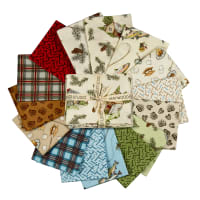 Maywood Studio Cozy Cabin Fat Quarter Bundle (14pcs + 1 panel) Multi