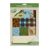 Maywood Studio Cozy Cabin Pod Irish Chain Quilt Kit Multi