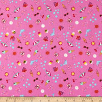 Lewis & Irene Whatever The Weather Summer Tropical Pink