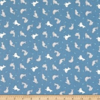 Lewis & Irene Small Things By The Sea Seals Dark Blue