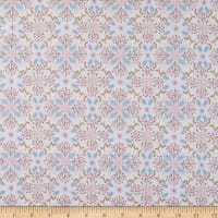 Lewis & Irene Winter In Bluebell Wood Winter Floral Grey