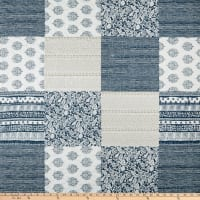 """STOF France 106"""" Pre Quilted Carla Bleu"""