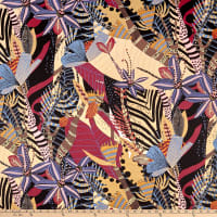 Alexander Henry Fabrics Nyara Tropical Coffee
