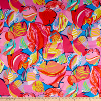 Alexander Henry Fabrics In the Reef Fish Aqua