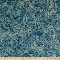 Island Batik London Calling Cherwell French Blue