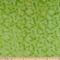 Island Batik Sweet Tweets 2 Dragonfly Lemon Lime