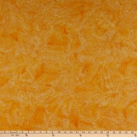Island Batik Whatnot Dot Burst Orange