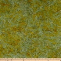 Island Batik Whatnot Mum Green