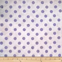 Batik by Mirah Cream Cherise Dots Drummer Purple
