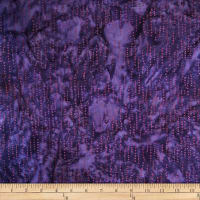 Batik by Mirah Flamenco Dotty Lines Prisma Purple