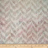 Batik by Mirah Milky Mist Crosshatches Crayon White