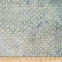 Batik by Mirah Milky Mist Scales Wonderful White