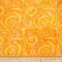Batik by Mirah Sierra Abstract Prints Yellow Fuzz