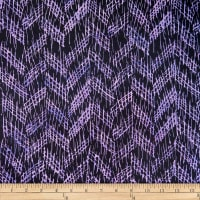 Batik by Mirah True Trench Crosshatches Dinamika Purple
