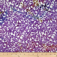 Batik by Mirah True Trench Abstract Prints Lush Purple