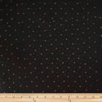 Batik by Mirah Night Cruise Small Dots Brown Black