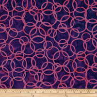 Batik by Mirah Salsa Rings Purple Drab
