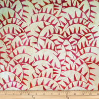 Batik by Mirah Salsa Abstract Prints Lobster Cream