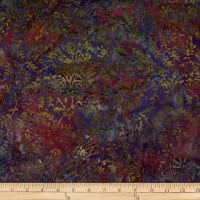 Batik by Mirah Salsa Vines Theme Purple