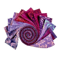 "Batik by Mirah 2.5"" Strip Rolls Ambrosia, 24 pcs."