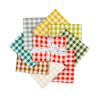"Kaufman Kitchen Window Woven 18"" Fat Quarter Bundle"